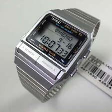 Men's Casio Data Bank 50 World Time Telememo Watch DB520A-1A