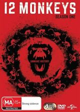 12 Monkeys : Season 1 (DVD, 2015, 4-Disc Set)