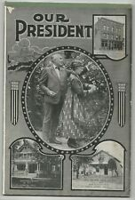 Unusual Warren Harding & Wife Ruled Kids Tablet Our President w/Marion Oh Scenes