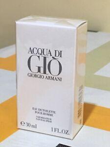 Armani ACQUA DI GIO'Pour homme Edt 30/spray 💯% Originale &Autenthic