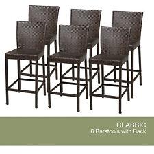 6 Classic Barstools w/ Back
