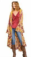 Goldenrod Bohemian Duster Kimono