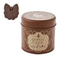 💕Sailor Moon×Q-pot Cafe Limited Item Moon fairies biscuit can 💕cocoa Q pot