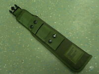 British Army Bayonet Frog Olive Green/DPM Early/Late PLCE Webbing