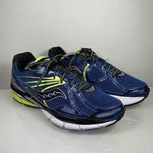 Saucony Hurricane 15 Size UK 9.5 EU 44.5 Mens Blue Running Shoes