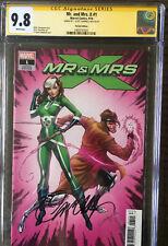 CGC Signature Series 9.8 Mr & Mrs X #1 Virgin Variant J. Scott Campbell Signed