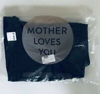 MOTHER Denim The Dropout Cropped Slim Jeans  In Black Size 31 NWT