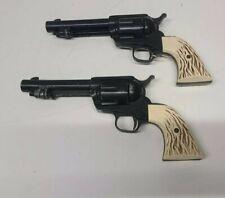 2 Crosman Hahn (45) bb gun Vintage Co Air Pistol Revolver Single action 1958