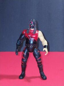 "1998 Jakks Pacific WWE Kane Black Suit Rare Loose 6"" Action Figure"