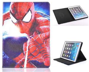 For iPad Pro 9.7 / iPad 9.7 / iPad Air 1-2 Spider-Man Marvel Case Cover