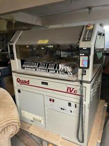 Quad IVC Pick and Place Assembler