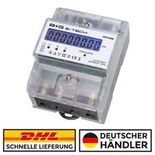 LCD - 3 Phasen Drehstromzähler Stromzähler S0 LCD 20(80)A - DRT428B - B+G e-tech