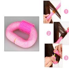 12pcs Magique Mousse Rouleaux Bigoudi Coiffure Cheveux Roller Curler DIY Twist