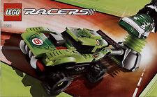 Lego Racers # 8231 Vicious Viper - Bauanleitung (keine Steine!)