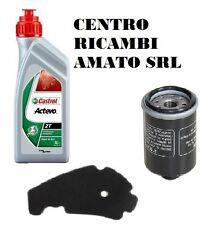 KIT TAGLIANDO FILTRO ARIA+OLIO+1LT CASTROL DERBI GP1 250 2006 06