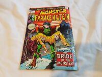 Frankenstein (The Monster of..) #2  1973 Marvel  Ploog art