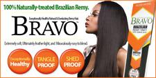 "MODEL MODEL BRAVO BRAZILIAN REMY YAKY Human Hair Extension Weave 16"" & 18"""