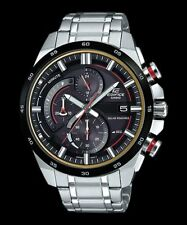 EQS-600DB-1A4 Casio Men's Watches Stainless Steel Band Analog New