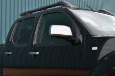 Chrome Rétroviseur Bordure Set Housses Pour Nissan navara d40 (2005-09)
