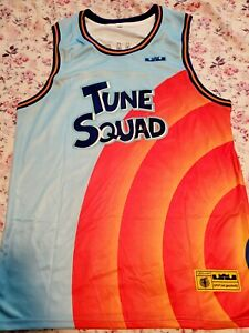 James #6 Tune Squad Jersey- Stitched- Space Jam Movie S-XXL