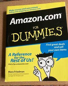 Amazon.com For Dummies 2004 Paperback MINT!