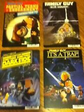 4 Family Guy Blockbuster Promo DVD Display Cards. 3 Star Wars spoof + Bonus!