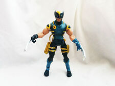 "Marvel Legends Wolverine Blue and Yellow outfit action figure 6"" scale"