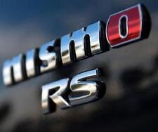 2015 Genuine OEM Nismo RS Emblem badge Nissan Racing Juke 370z 350z Decal