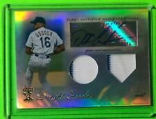 DWIGHT DOC GOODEN 2009 TOPPS TRIBUTE RELIC JERSEY AUTOGRAPHED SIGNED CARD SP /99