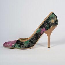 MIU MIU FLORAL PUMPS Designer Shoes(MIUMIU200) Size 40 . Rare Model, SOLD OUT