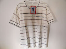 Herren Pyjama, Schlafanzug Gr.46 - 48 / M , kurz, creme, HSA/19