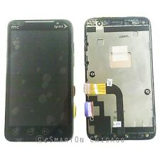 HTC EVO 4G WIDE LCD & Touchscreen Assembly with bezel Front Housing (Sprint)