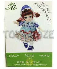 JUN PLANNING AI BALL JOINTED DOLL VINCA A-709 FASHION PULLIP GROOVE INC NEW