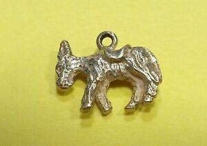Sterling Silver Charm Vintage Donkey
