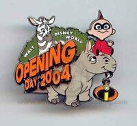 Disney The Incredibles Opening Day Animal Kingdom Jack Pin