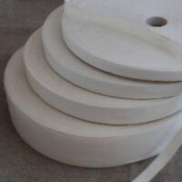 Cotton Ribbon Tape Trim - Blank Sewing Label - Ivory - 2 Metres