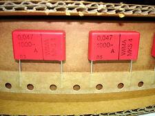 6pcs .047uF 1kV 1000v 10% Wima Mks4 Guitar Tube Amp Amplifier Capacitors New,