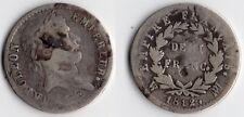 TRES RARE 1/2 FRANC NAPOLEON EMPEREUR ARGENT 1812 MA ( MARSEILLE ), PETIT TIRAGE