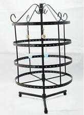 New 192  holes black color rotating earrings jewelry display stand rack holder
