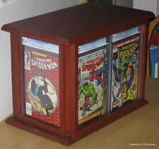 BIG CGC Frame & Statue Display Case + Custom Comic storage.Holds up to 43 books!