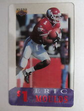 Telefonkarte Phonecard USA Football ERIC MOULDS National Football League NFL