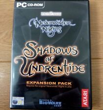 Neverwinter Nights Shadows of Undrentide Expansion Pack for PC CD Rom