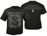 OFFICIAL LICENSED - SEPULTURA - THE MEDIATOR T SHIRT METAL