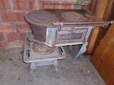 Ancien poele crapaud, poele charbon ancien, cuisinière charbon, poele fonte