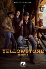 Yellowstone Season 2 Series Two Second Kevin Costner New DVD IN STOCK NOW Reg 4