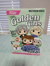 """The Golden Girls cereal with Betty White """"Rose"""" Pocket POP! Funko 2018 Sealed"""