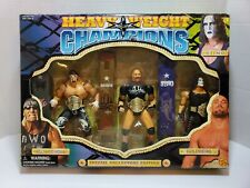 1999 WCW Heavy Weight Champions Special Collectors Edition Hogan,Goldberg, Sting