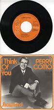 Schallplatte Single - Perry Como - I Think of You - Snowbird
