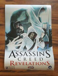Assassin's Creed Revelations Penny Arcade RARE Promo Poster 2011 Ubisoft
