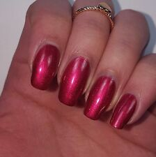 DARK RED VELVET Shiny Nail Polish 15ml indie 5-free handmade vegan cruelty-free